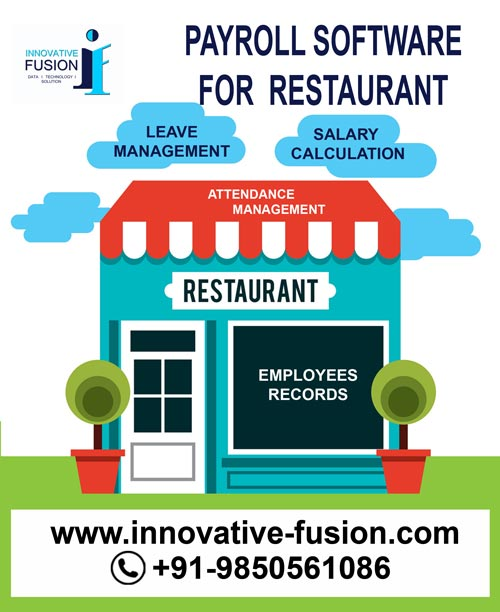 payroll software for restaurant, Leave management, salary calculation, Payroll System for restaurant