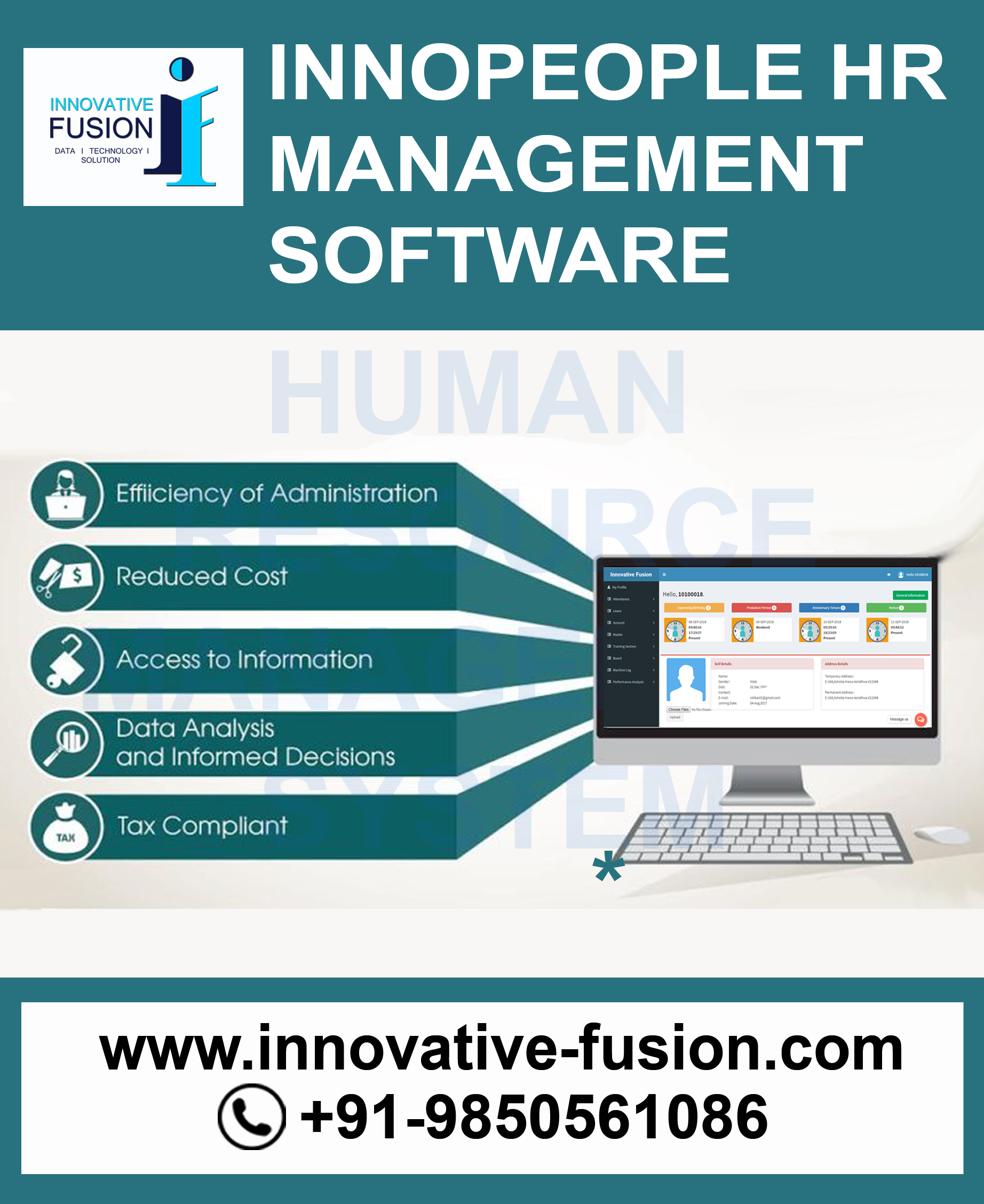 Human resource management system hrms payroll software